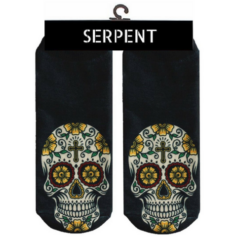 Skull Printed Cute Socks