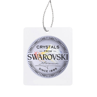 Swarovski Elements kristāla LIGHT CORAL lāsīšu auskari
