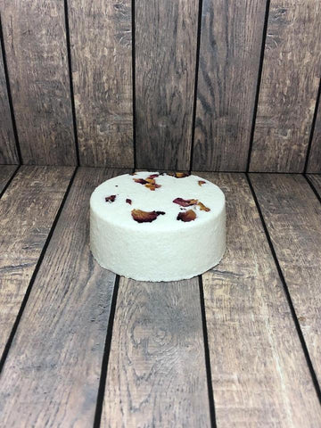 Vanilla Rose Goat Milk Bath Bomb