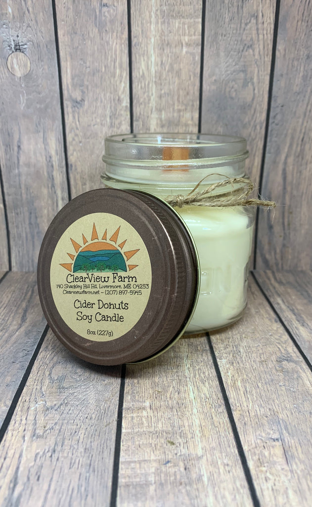 Cider Donuts Soy Candle