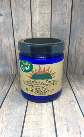 Crisp Anjou Pear Goat Milk Lotion