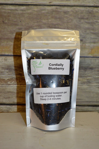 Tea Please!  Cordially Blueberry- Loose Leaf Tea