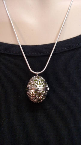 Essential Oil Diffuser Necklace- Egg