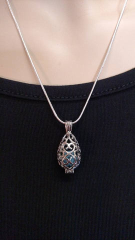 Essential Oil Diffuser Necklace- Teardrop