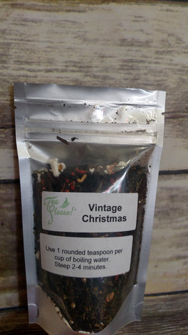 Tea Please! Vintage Christmas- Loose Leaf Tea