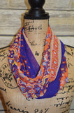 Infinity Scarf- Royal Orange