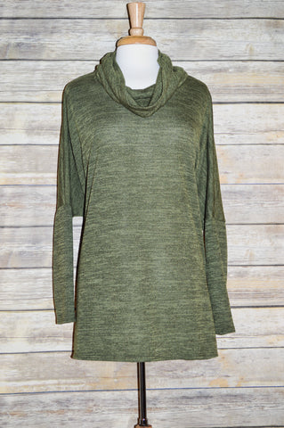 Made in USA Plus Green Sweater