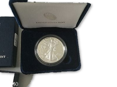 Silver American Eagle Proof Coin Dates to Vary