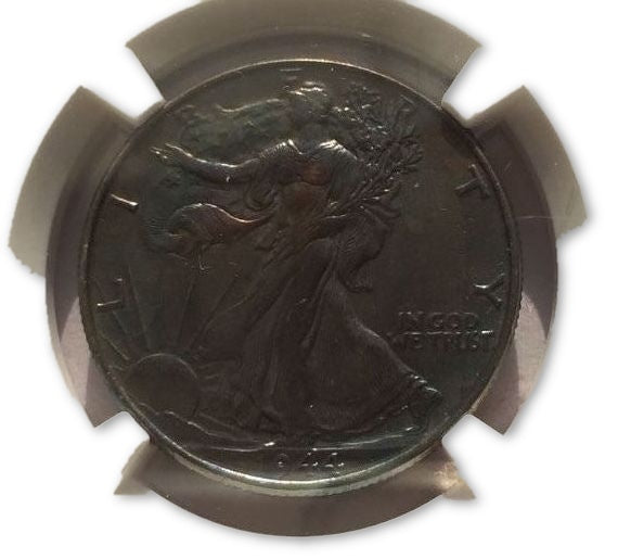 1944 50C Walking Liberty Half Dollar NGC UNC