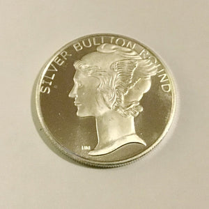Mercury Dime Design Fine Silver Bullion 1 oz .999 fine