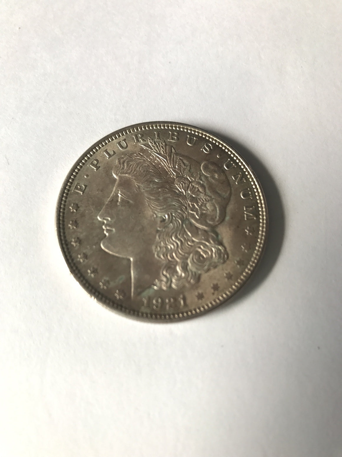 1921 Morgan Dollar High grade