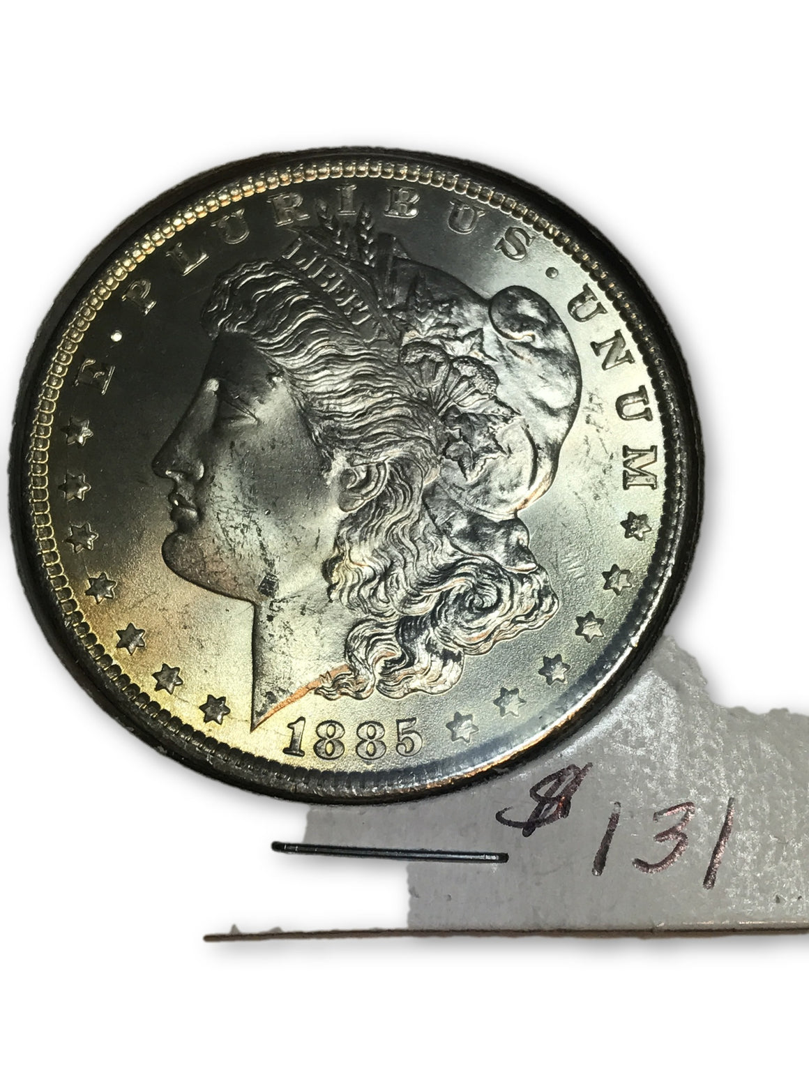 1885 Morgan Dollar BU 90% Silver