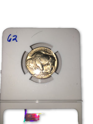 1937 D Buffalo Nickle NGC MS65