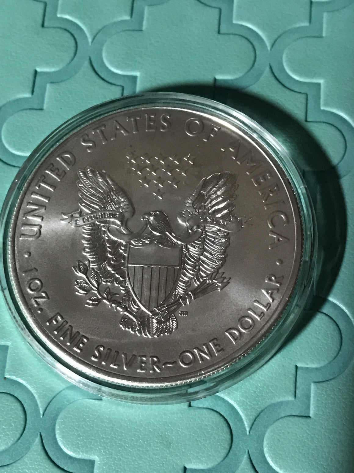 2016w American Silver Eagle BU Burnished