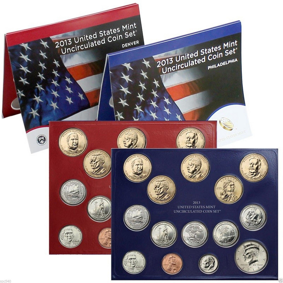 2014 US Mint Uncirculated Coin Set® (U13) D & P NIB