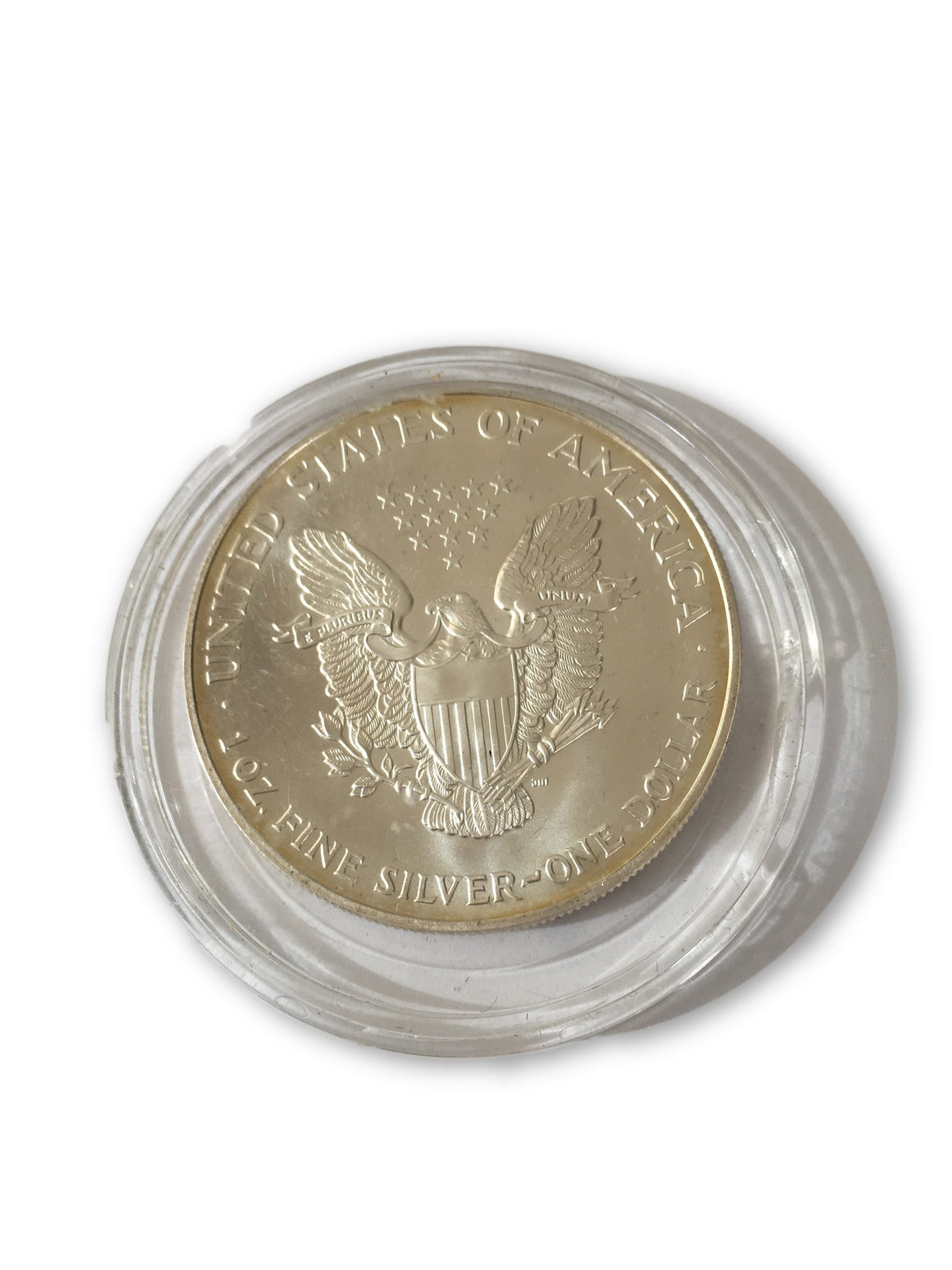 2001 American Silver Eagle colorized 1oz .999 Silver