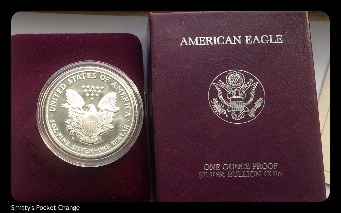 American Silver Eagle Proof  1oz OGP Dates Vary