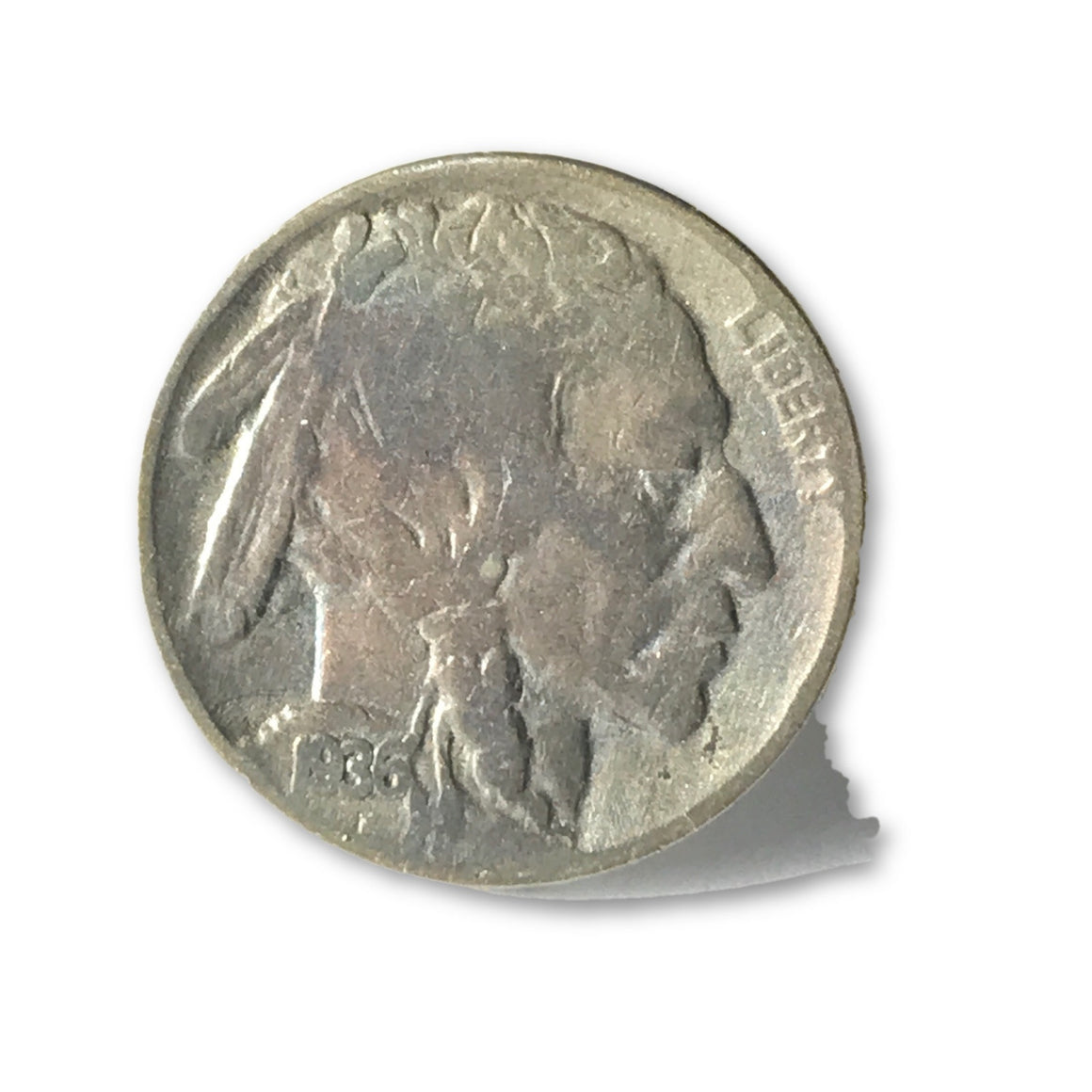 1936 Buffalo Nickel full date