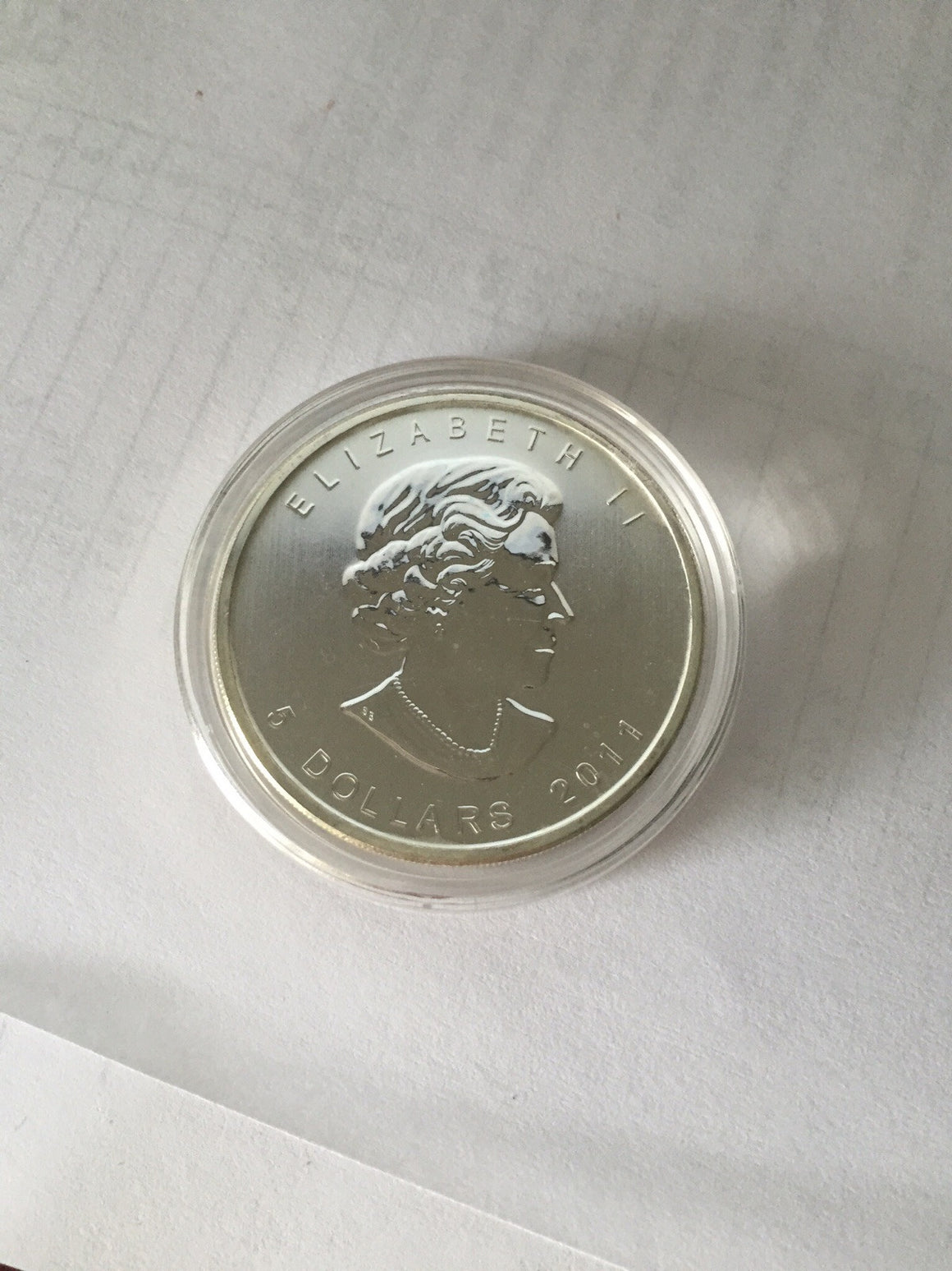 2011 Canadian Wolf Silver Bullion Coin