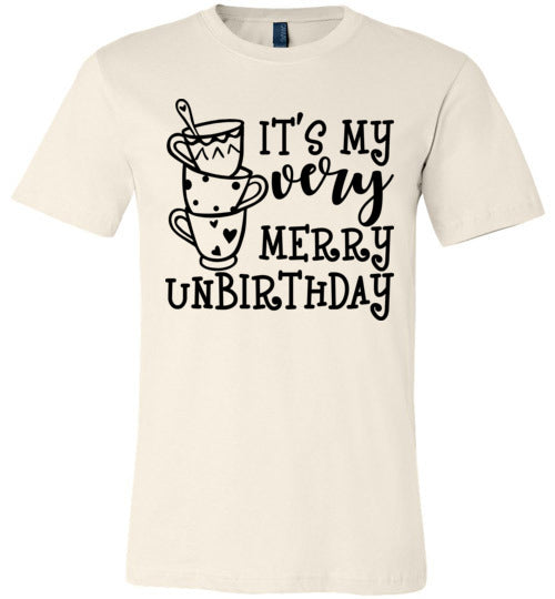 It's My very Merry Unbirthday T-shirt  V1 - TS
