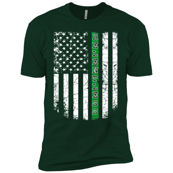 Thin Green Line Relentless Premium Short Sleeve T-Shirt