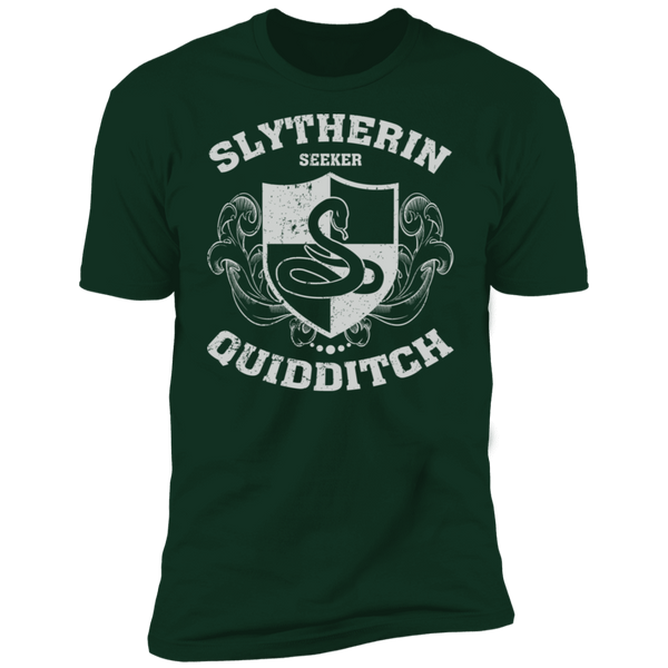 Slytherin Seeker Premium Short Sleeve T-Shirt