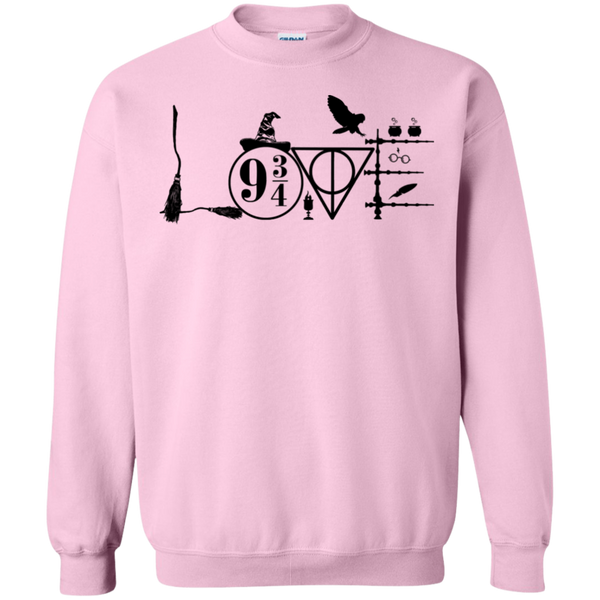 Harry Potter Love Crewneck Pullover Sweatshirt