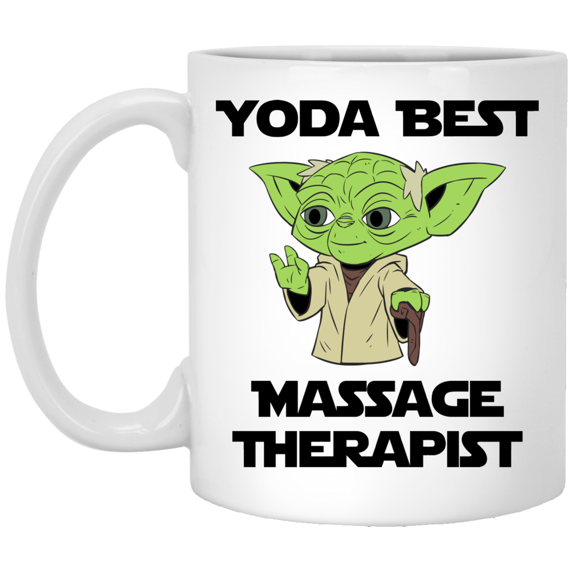 Yoda Best Massage Therapist Mug