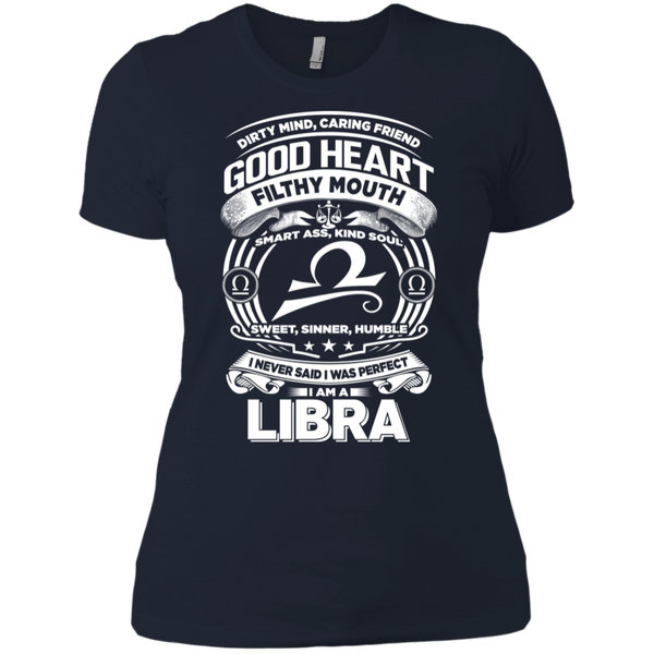 Good Heart Libra Zodiac Ladies T-Shirt