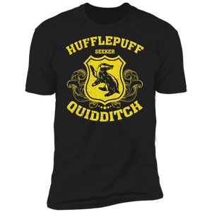 Hufflepuff Seeker Premium Short Sleeve T-Shirt