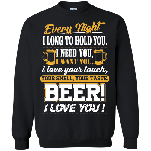 Beer, I Love You! Sweatshirt, 98003SW