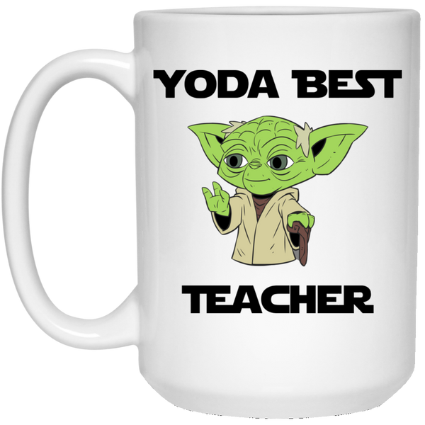 Yoda Best Teacher Mug
