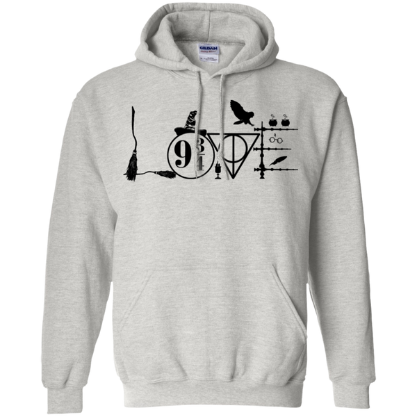 Harry Potter Love Pullover Hoodie