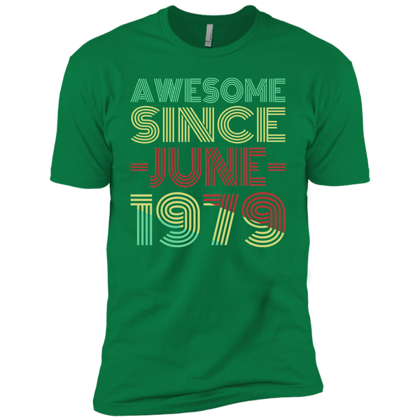 Awesome Since June 1979 Premium Short Sleeve T-Shirt