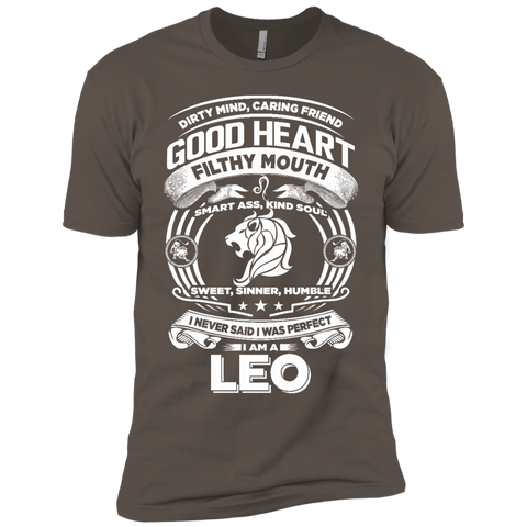 Good Heart Leo Zodiac Premium Short Sleeve T-Shirt