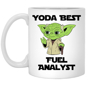Yoda Best Fuel Analyst Mug