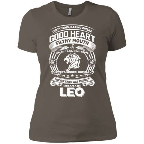 Good Heart Leo Zodiac Ladies T-Shirt
