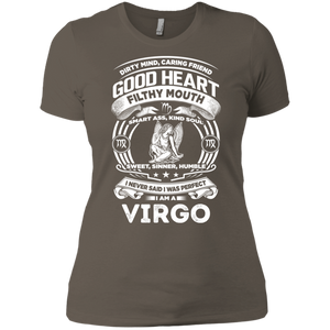 Good Heart Virgo Zodiac Ladies' Boyfriend T-Shirt