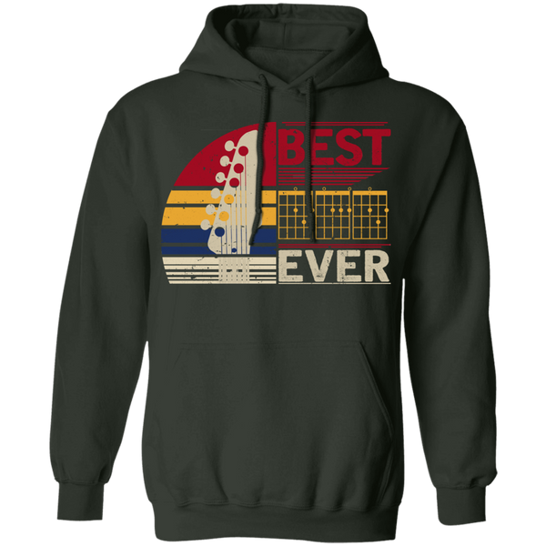 Best Guitar Dad Ever Beater Pullover Hoodie