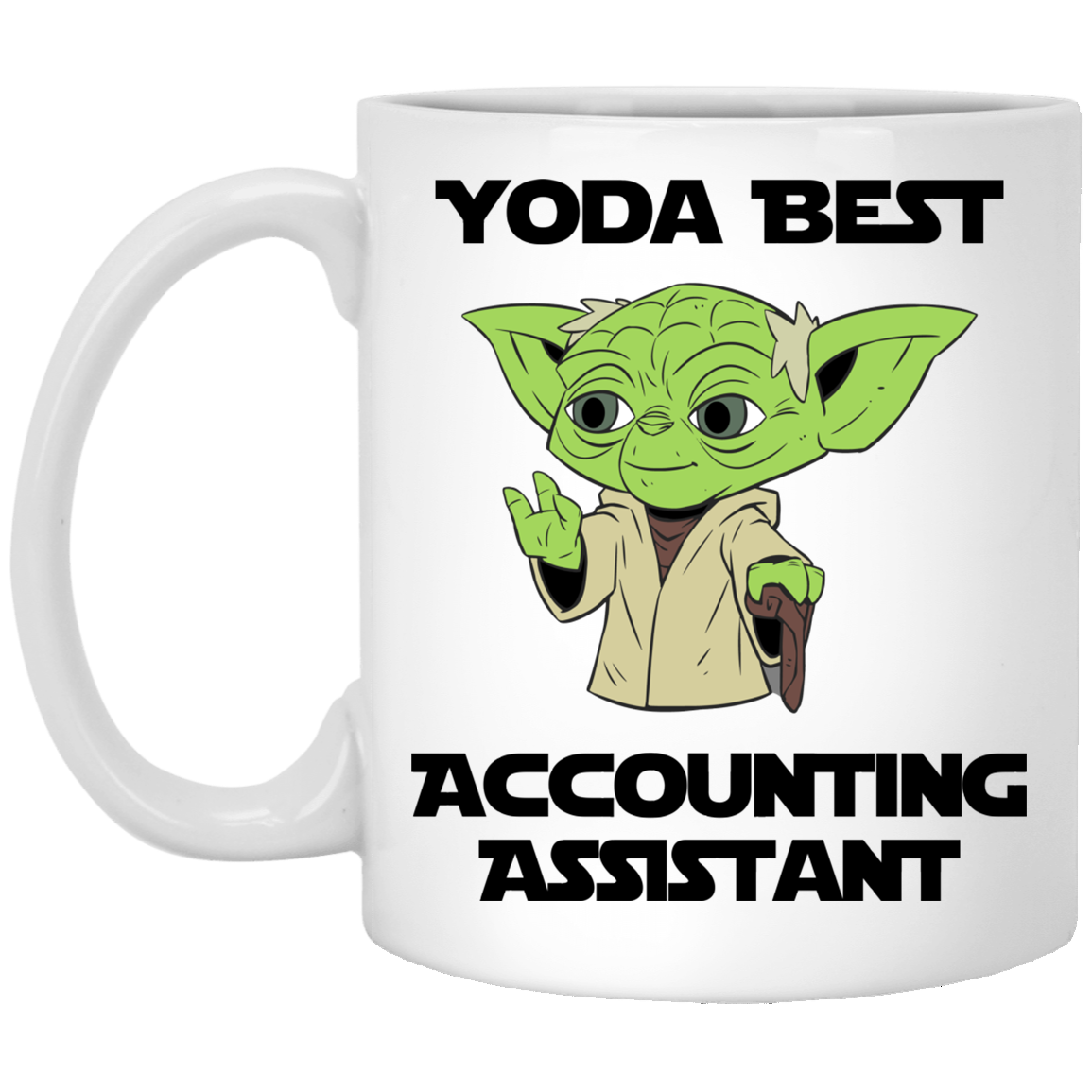 Yoda Best Accounting Assistant Mug
