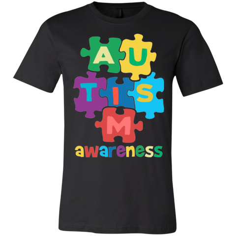 Autism Awareness Unisex Jersey Short-Sleeve T-Shirt