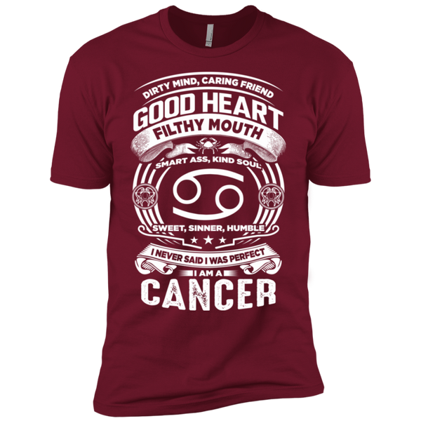 Good Heart Cancer Zodiac Premium Short Sleeve T-Shirt
