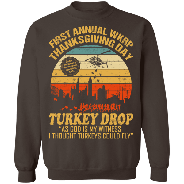 First Annual WKRP V1 Crewneck Pullover Sweatshirt - V1