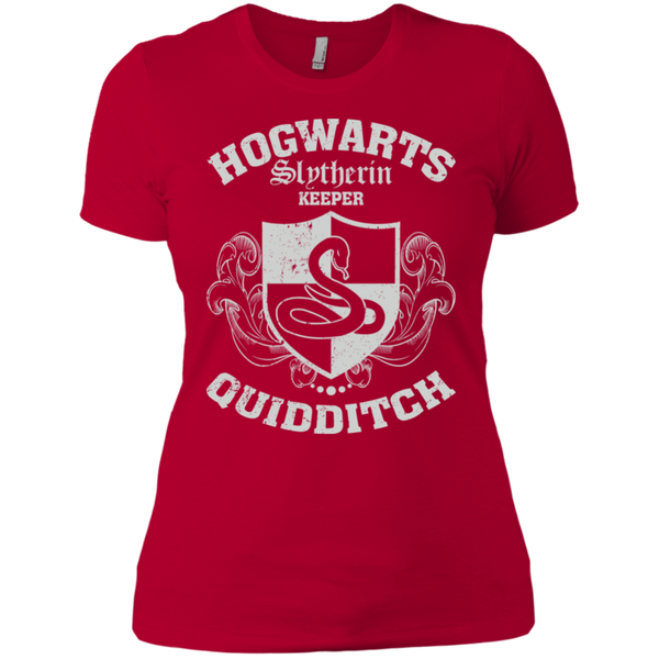 Quidditch Slytherin Keeper Ladies T-Shirt