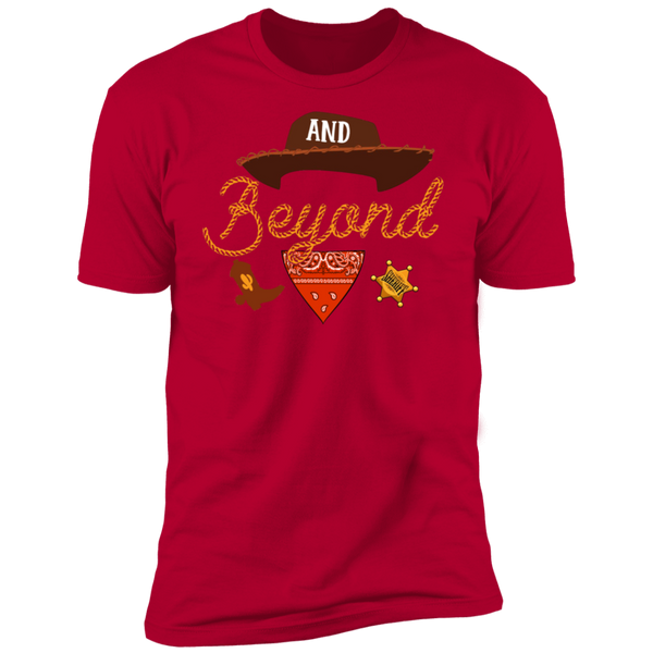 And beyond Premium Short Sleeve T-Shirt