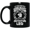 Good Heart Leo Zodiac Mug, 10007BM