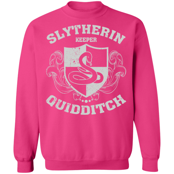 Slytherin Keeper Crewneck Pullover Sweatshirt - V1
