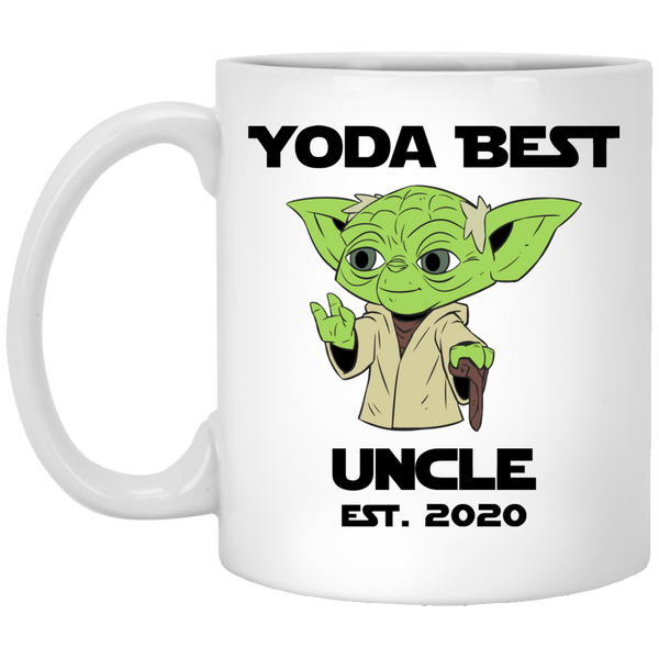 Yoda Best Uncle 2020 Mug