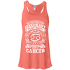 Good Heart Cancer Zodiac Flowy Racerback Tank Top
