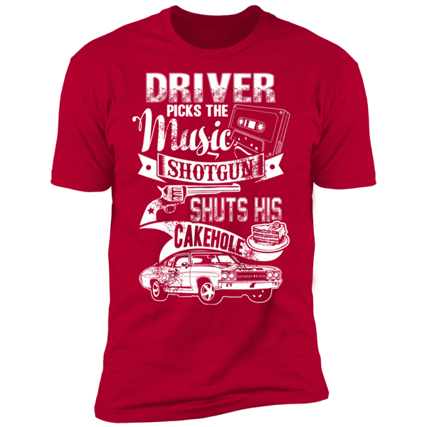 Supernatural - Driver Picks The Music Premium Short Sleeve T-Shirt
